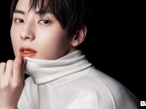 韩国男团NU'EST成员黄旼炫最新杂志写真曝光