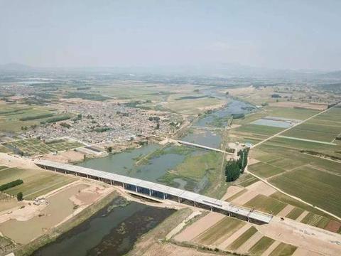 山东将开通的一条高速公路,长约133.8公里,穿过4个县市