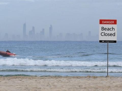 防鲨网也没用!澳大利亚黄金海岸一名冲浪者死于鲨鱼袭击