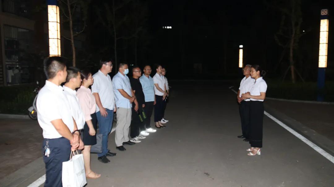 提高宁静意识 增强防范意识 ——渭南市玉泉中学宿舍安静检查已经开始