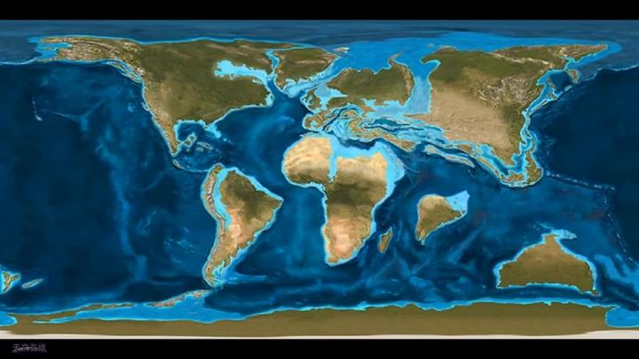 从古至今,看完地球的大陆漂移过程