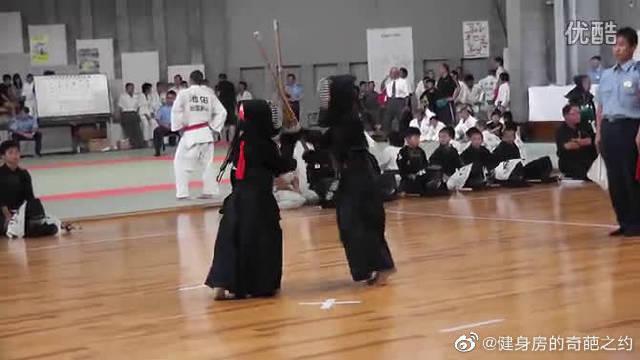 天津 剑道-岛根县小年剑道 二回戦