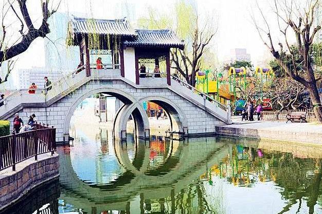 北京一免费公园,园内景观媲美江南园林,距市中心仅8公里