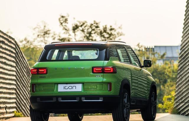 吉利ICON新增3款车型上市,售9.98万起,外观个性、前卫!