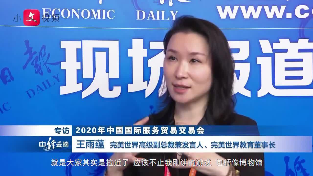 王雨蕴:数字文创产业迎来全新的发展机遇(视频)