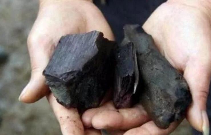 男子河里摸鱼摸出了块木炭,拿给儿子一看,才知是宝贝