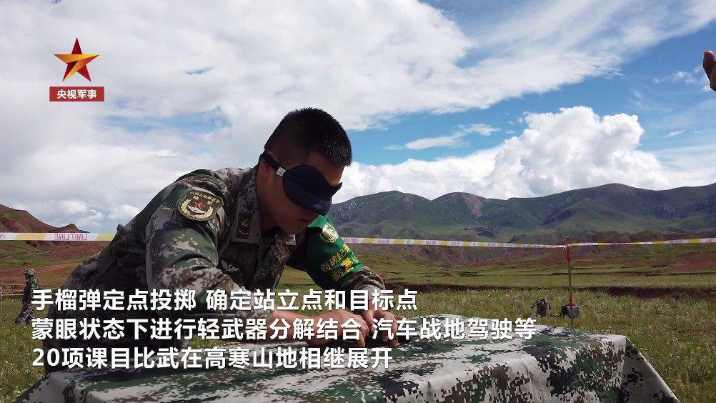 厉害!西藏军区川藏兵站部高原创破纪录比武