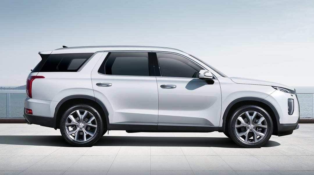 家用车起步就能是进口大型SUV了,现代帕里斯帝来袭,预售31万起