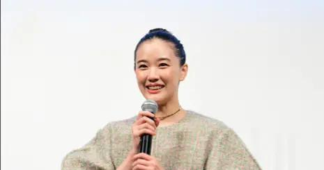 苍井优参加电影宣传活动 畅聊拍戏趣事