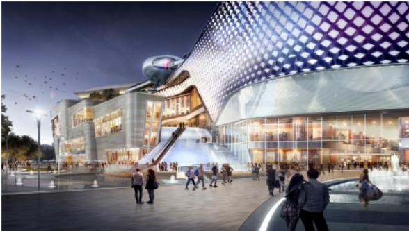 烟台高新区计划建设大型都市商业综合体