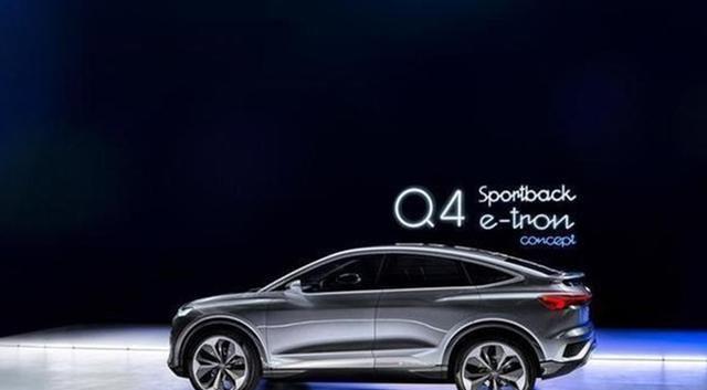 奥迪Q4 Sportback e-tron谍照首次曝光 将搭后驱和四驱系统