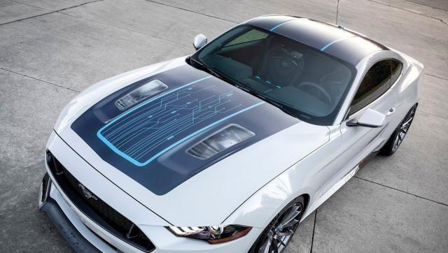 拉风电动跑车福特野马Lithium概念车官方地图发布