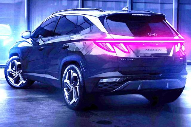 未来化设计 第五代现代途胜北京车展首次亮相 将2021年引进国内