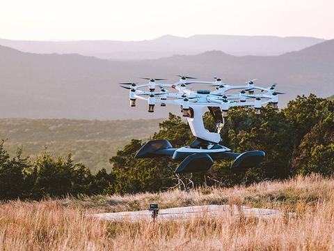 嘉合创通说设计:hexa升力飞机是一种18旋翼电动垂直起降飞机
