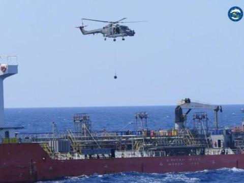 欧盟拦截阿联酋油轮,载有大量航空燃油,准备支持哈夫塔尔再战?