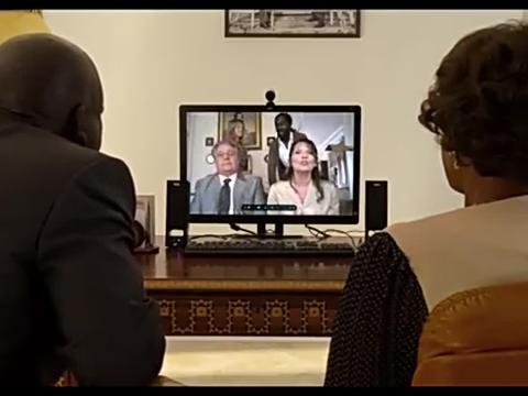 法国夫妇和非洲夫妇视频讨论儿女结婚问题中国的话电脑早砸碎了