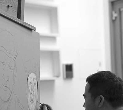 新写实主义油画最杰出的代表人物——忻东旺