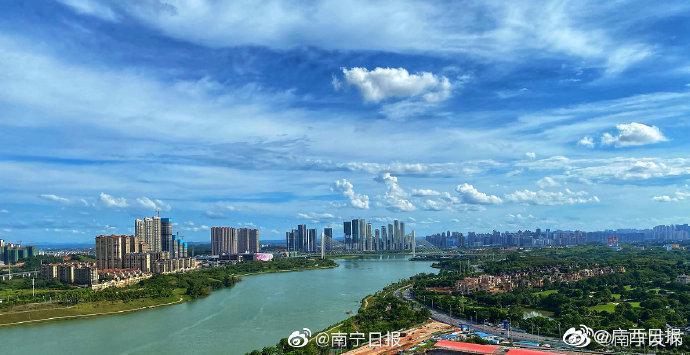 南宁 前8个月市区环境空气质量优良率98%