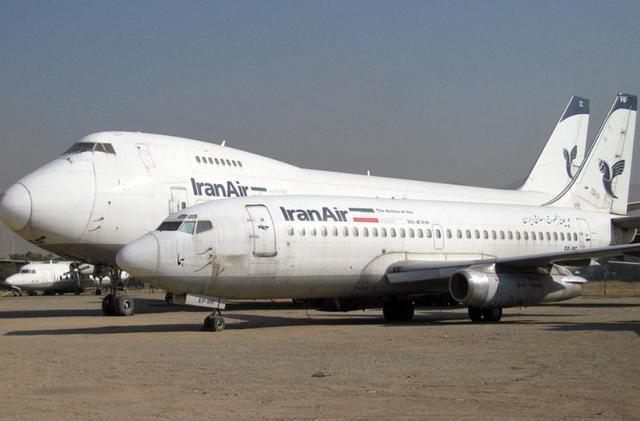 遭受美国制裁 伊朗航空公司想拍卖12架旧飞机:也许只有左手和右手