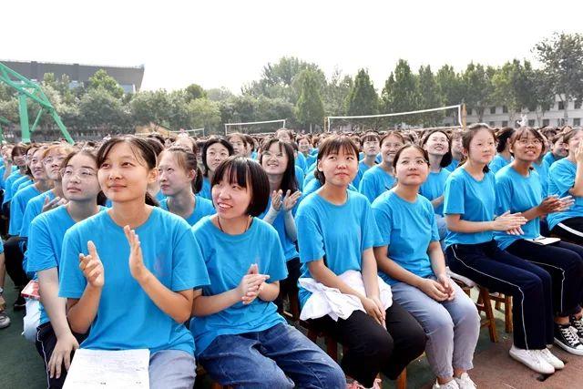 圣都中学新学年开学典礼隆重举行