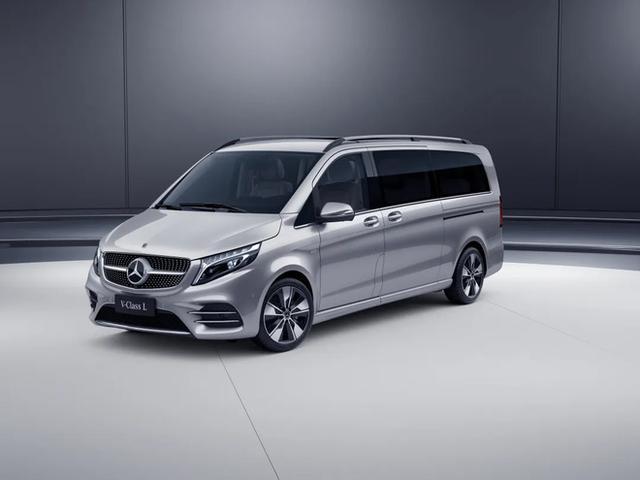 新款奔驰V级开启预售,新一代V级搭载2.0T汽油发动机