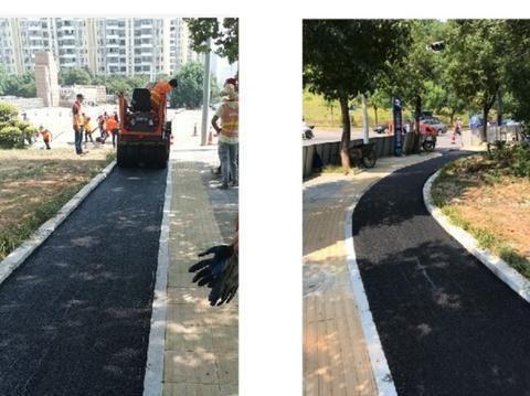 市政局解锁人行道开辟非机动车道新试点