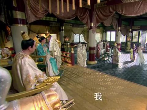 回鹘国公主对段誉一见钟情,直言非他不嫁,这可难坏了段皇爷