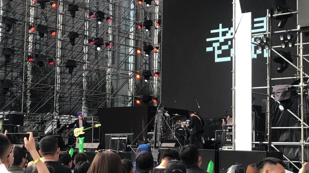 现场视频反馈:今日哈尔滨麦浪嘉年华音乐节