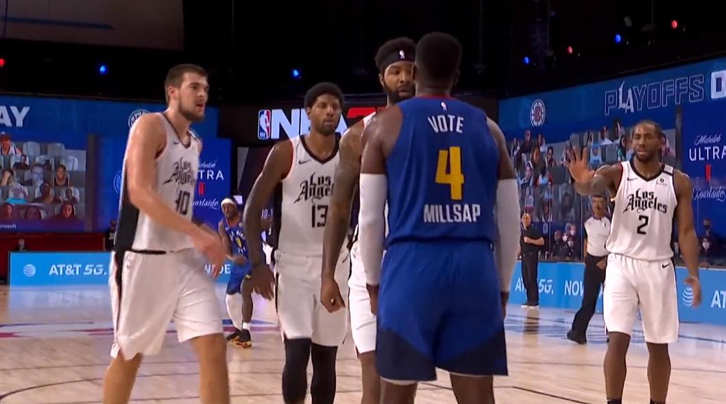 北京时间9月12日,NBA西部半决赛G5,快船VS掘金!
