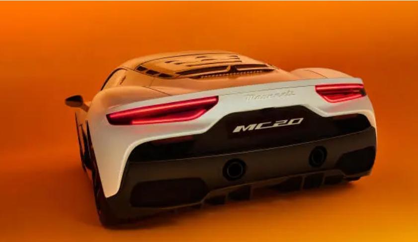 """新""""海王""""来了,630马力新超跑,玛莎拉蒂MC20全球首发"""