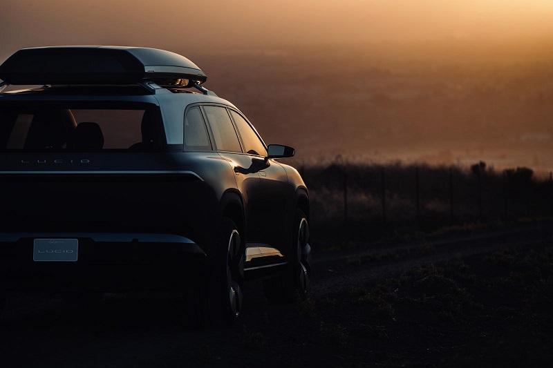 Lucid Motors发布全新SUV预告图 定位纯电动豪华7座SUV