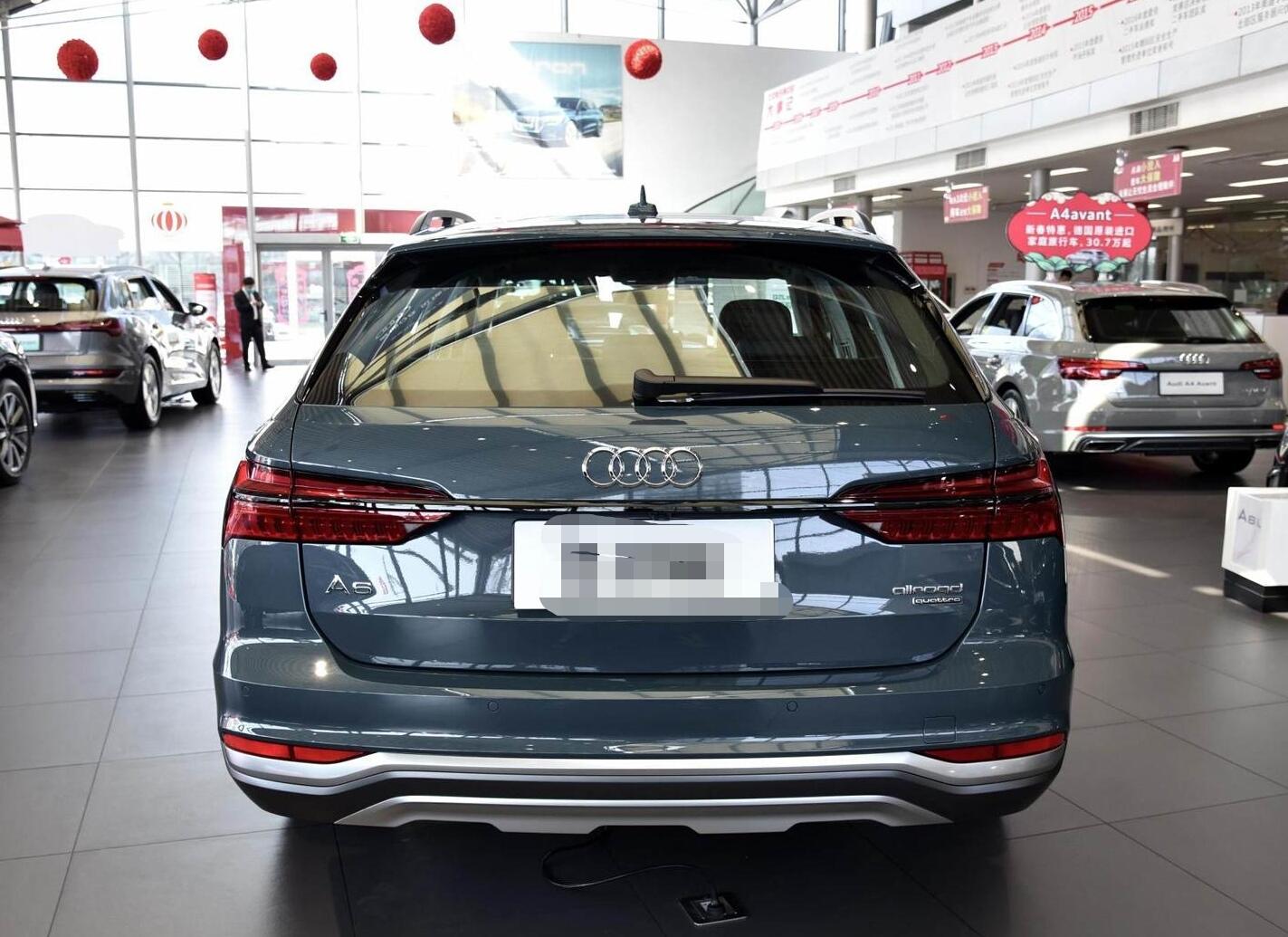 奥迪A6旅行版来袭,2.0T+修长车身,预售40万,比宝马5系帅气