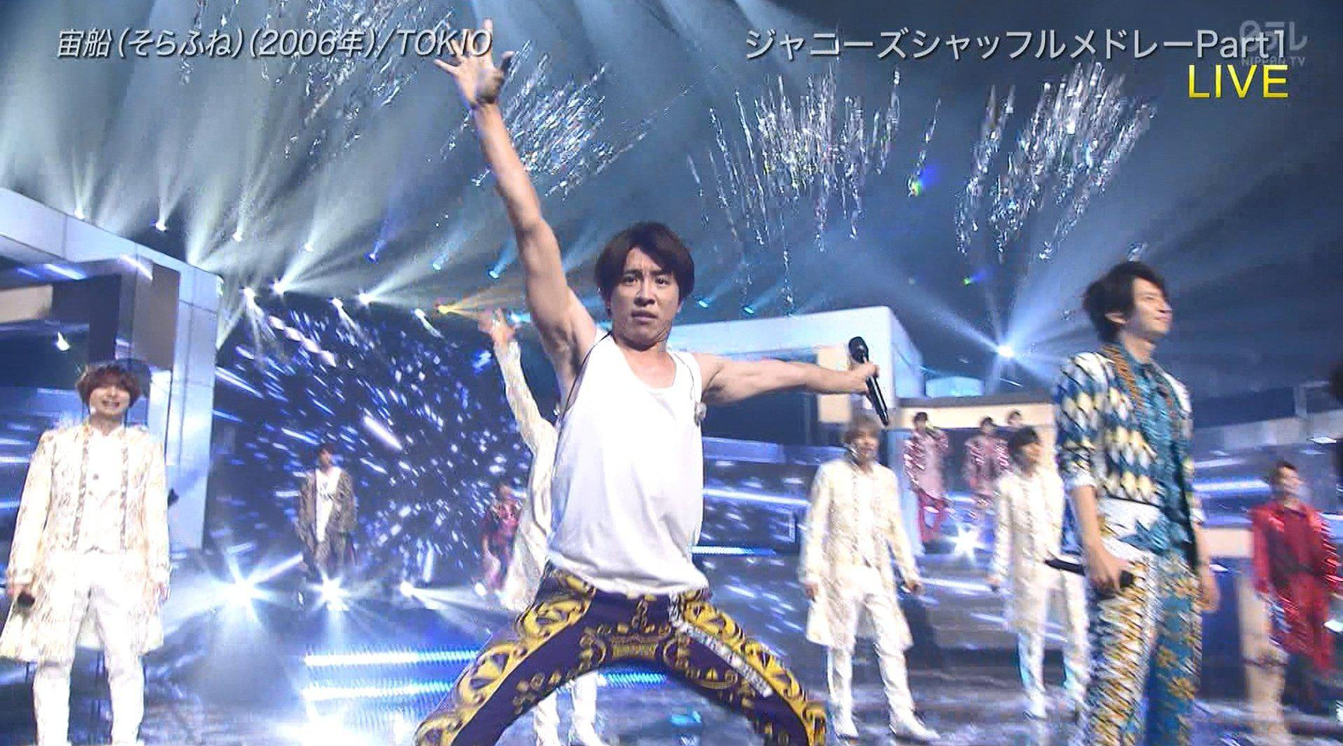 the music day 2020 杰尼斯 shuffle melody part 1
