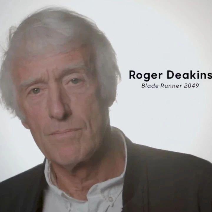专访罗杰·迪金斯:如何制作《银翼杀手2049》?丨匠人说