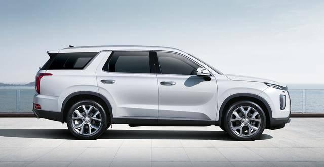 进口大七座SUV预售只要31万,现代帕里斯帝来了