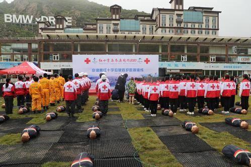 冬奥会护航!京津冀红十字救援演习在崇礼举行