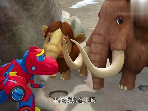 帮帮龙出动:猛犸象要去北方,路途太遥远了,帮帮龙帮帮它们吧