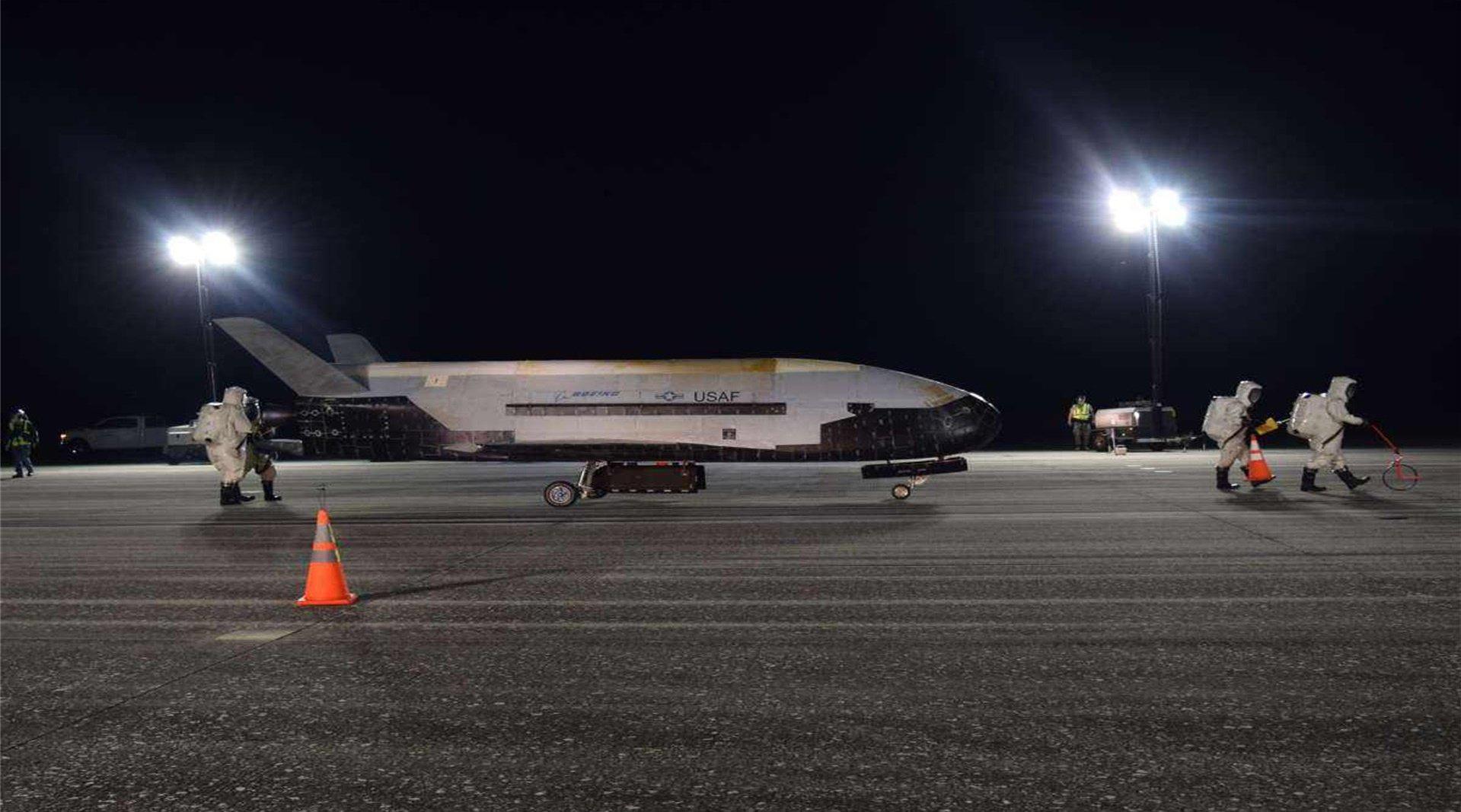 """""""中国版""""X37B航天飞机成功发射……"""