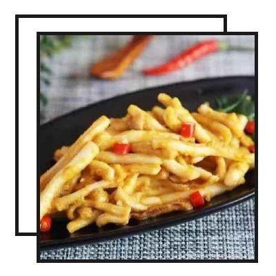 【明天吃】蛋黄酱鸡蛋吐司、椒香酸汤五花肉、鱼香鱼块、酱爆鸡丁、咸蛋黄鱿鱼
