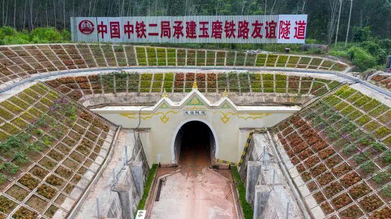 了解中老铁路唯一跨境隧