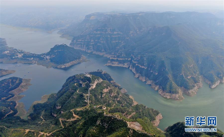 河南济源:黄河三峡之美