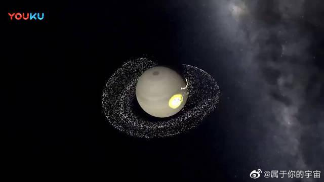 土星和天王星的决战,胜利的一方将获得美丽的星环!!