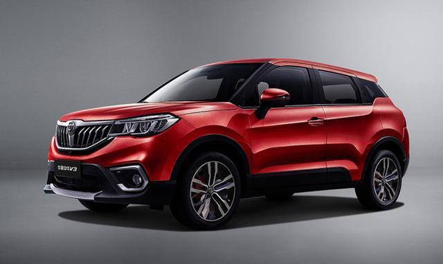 更具运动化,中华V3新增三款车型 售价6.09万元起