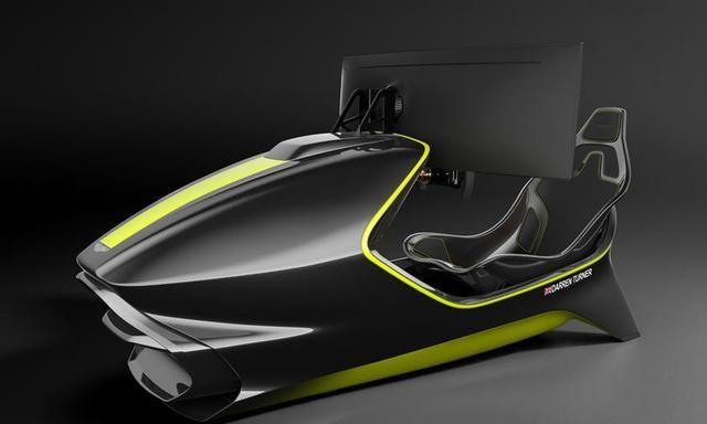 阿斯顿·马丁AMR-C01赛车模拟器,限量150台,起价约50万元