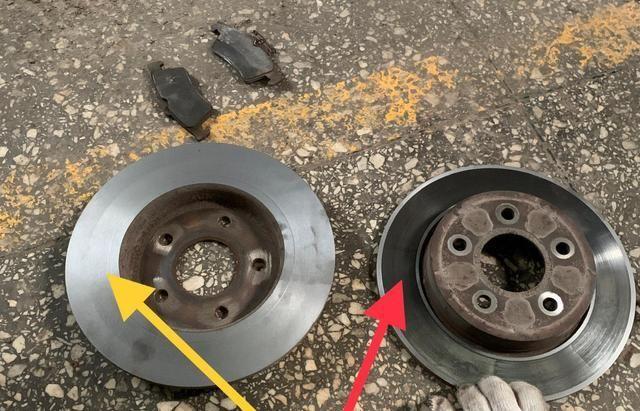 刹车异响变得越来越大时,车主才意识到问题,慌忙把车开到修理厂