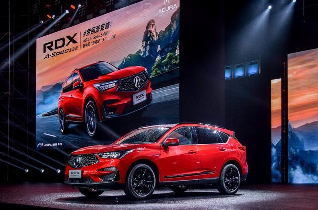 豪华运动SUV新选择,广汽Acura RDX A-Spec运动款38.6万起售
