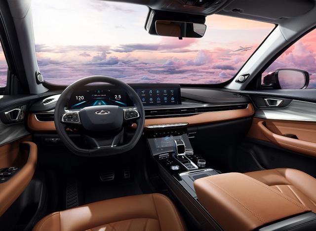 1.6T版本部分配置曝光奇瑞瑞虎8PLUS北京车展预售将10月上市