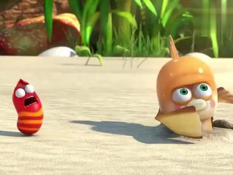 爆笑虫子:弹涂鱼打招呼真奇特,全员接球,打的虫子满天飞