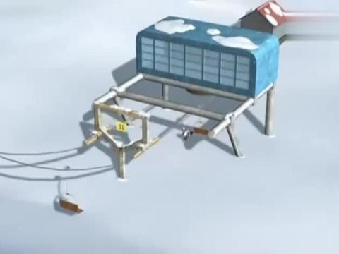 贝肯熊:贝肯熊拿着滑雪板,想展现自己的技术,不料没给它机会