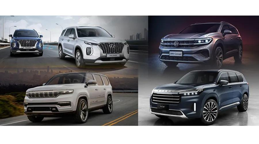 大排量和7座是硬指标?从帕里斯帝等新车一窥中大型SUV新趋势